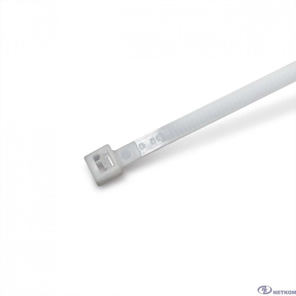 Hyperline GTR-300STC Стяжка нейлоновая открывающаяся, безгалогенная (halogen free), 300x4.8мм (100 шт)