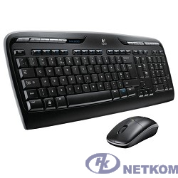 920-003995 Logitech Клавиатура + мышь MK330 USB Wireless Desktop