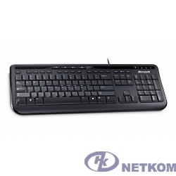 "Microsoft Клавиатура ""Wired Keyboard 600"" ANB-00018, 104+5кн., водостойкая, черный (USB)"