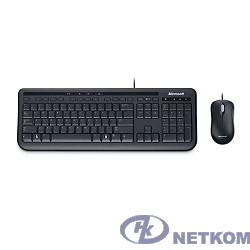 Microsoft Клавиатура + мышь Wired Desktop 600 Black USB (APB-00011) Retail