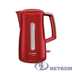 BOSCH TWK3A014 Чайник, 2400Вт, красный