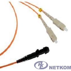 Hyperline FPT-B9-50-LC/PR-1M-LSZH-OR Пигтейл волоконно-оптический MM 50/125 (OM2), LC, 1 м, LSZH