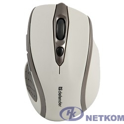 Defender Safari MM-675 Nano Sand White USB [52677] {6кнопок,800-1600dpi}