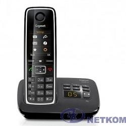 Gigaset C530A(M) Black Телефон беспроводной (черный) автоответчик