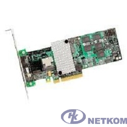 LSI (LSI00197) Контроллер LSI Logic MegaRAID SAS 9260-4i SGL 512Mb PCI-E, 4-port 6Gb/s, SAS/SATA RAID Adapter RET