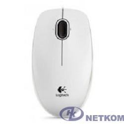 910-003360 Logitech Mouse B100 White USB OEM