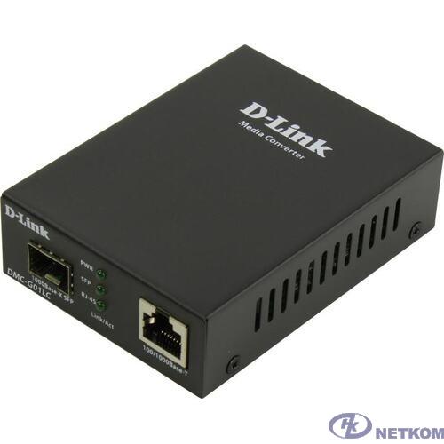 D-Link DMC-G01LC/C1A Медиаконвертер с 1 портом 100/1000Base-T и 1 портом 1000Base-X SFP