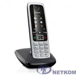 Gigaset C430 Black Телефон беспроводной (черный/серебристый)