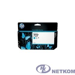 HP B3P19A Картридж №727, Cyan {Designjet T920/T1500, Cyan (130ml)}