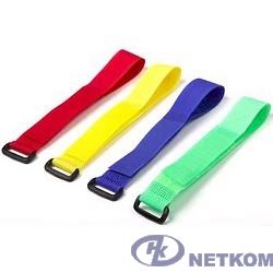 Hyperline WAS-290-GN Хомут для кабеля, липучка с застежкой, 290x20мм, зеленый