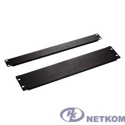 Hyperline BPV-1-RAL9005 Фальш-панель на 1U, цвет черный (RAL 9005)