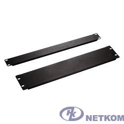 Hyperline BPV-2-RAL9005 Фальш-панель на 2U, цвет черный (RAL 9005)