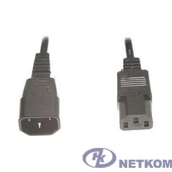 Кабель питания сист.блок-монитор Gembird 1.8м, черный, с зазем., пакет [PC-189-6]