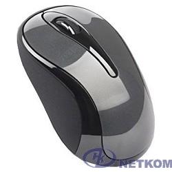 A-4Tech Мышь G3-280A (GlossyGrey) 800-2000 dpi (soft), 3 кн, 2.4Ghz 125-500Hz [741982]