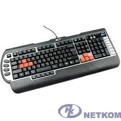 Клавиатура A-4Tech G800V черный USB Multimedia Game