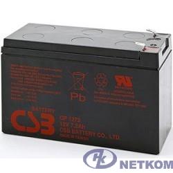 CSB Батарея GP1272 (12V 7.2Ah F2)