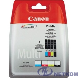 Canon CLI-451 6524B004 Картридж для MG6340, MG5440, IP7240, Набор из 4 цветов
