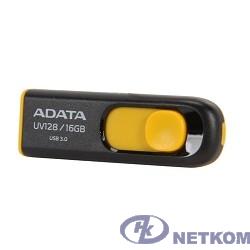 A-DATA Flash Drive 16Gb UV128 AUV128-16G-RBY {USB3.0, Black-Yellow}