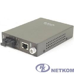 D-Link DMC-530SC/D7A Медиаконвертер с 1 портом 10/100Base-TX и 1 портом 100Base-FX с разъемом SC для одномодового оптического кабеля (до 30 км)