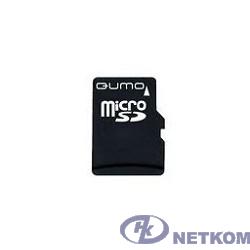 Micro SecureDigital 4Gb QUMO QM4GMICSDHC10 {MicroSDHC Class 10, SD adapter}