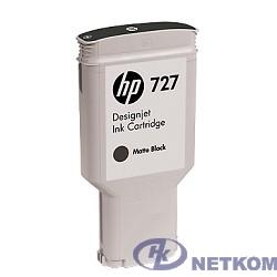 HP C1Q12A Картридж №727, Matte Black {Designjet T920/T1500, Matte black (300ml)}