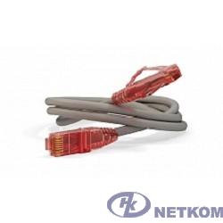 Hyperline PC-LPM-UTP-RJ45-RJ45-C5e-1M-LSZH-GY Патч-корд U/UTP, Cat.5e, LSZH, 1 м, серый