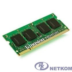 Kingston DDR3 SODIMM 2GB KVR16S11S6/2 PC3-12800, 1600MHz