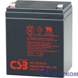 CSB Батарея HR1221W (12V 4,8Ah/21W) клеммы F2