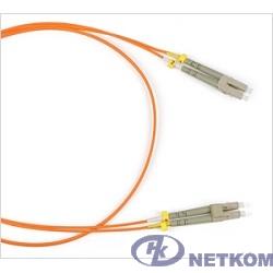 Hyperline FC-D2-50-LC/PR-LC/PR-H-5M-LSZH-OR (FC-50-LC-LC-PC-5M) Патч-корд волоконно-оптический (шнур) MM 50/125, LC-LC, 2.0 мм, duplex, LSZH, 5 м