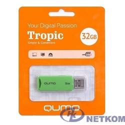 USB 2.0 QUMO 32GB Tropic Green [QM32GUD-TRP-Green]