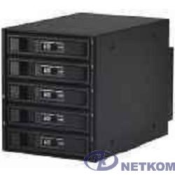 Procase L3-305-SATA3-BK {Hot-swap корзина 5 SATA3/SAS 6Gb, черный, с замком, hotswap aluminium mobie rack module (3x5,25)}