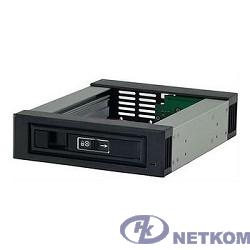 "Procase T3-101-SATA3-BK {Корзина с горячей заменой на 1 диск 3.5"" SATA3/SAS 12Gb(черный) hotswap trayless aluminium mobile rack module (1x5,25-1xHDD) }"