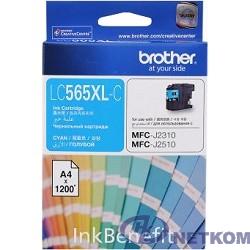 Brother LC565XLC Картридж ,Cyan MFC-J2510/J2310, Cyan, (1200стр)