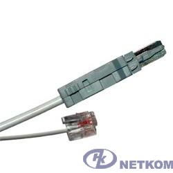 Hyperline KR-CABLE-6P2C Шнур тестовый 2-х контактный, 6P2C