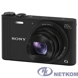 "Sony Cyber-shot DSC-WX350 [DSCWX350B.RU3]  black {18.2Mpx, 10x opt. zoom, 3"", 20x opt zoom}"