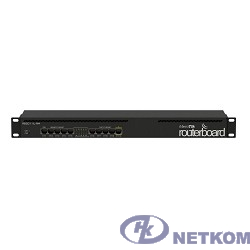 MikroTik RB2011iL-RM Маршрутизатор 5UTP  10/100Mbps  +  5UTP  10/100/1000Mbps with 1U rackmount case and power supply