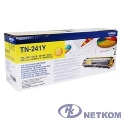 Brother TN-241Y Картридж ,Yellow MFC- 9330CDW/HL-3140CW/HL/3170CDW/DCP-9020CDW, Yellow, (1400стр)(TN241Y)