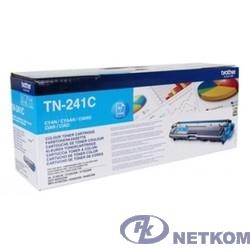 Brother TN-241C Картридж ,Cyan MFC- 9330CDW/HL-3140CW/HL/3170CDW/DCP-9020CDW, Cyan, (1400стр)(TN241C)