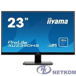 "IIYAMA 23"" XU2390HS-B1 черный {AH-IPS LED 1920x1080 5ms 16:9 1000:1 250cd 178°/178° D-Sub DVI HDMI 2x2W}"