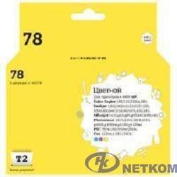 T2 C6578A Картридж (IC-H6578) №78 повышенной емкости для HP Deskjet 930/940/950/960/970/1220, color