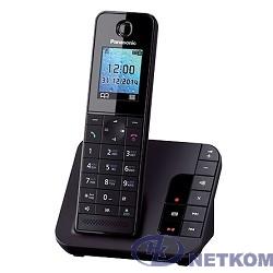 "Panasonic KX-TGH220RUB  (черный) {АОН, Caller ID, ""Радионяня""}"