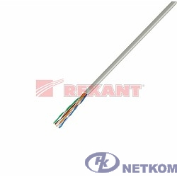 REXANT (01-0043) Кабель UTP CAT5e 4 пары (305м) 0.51 мм