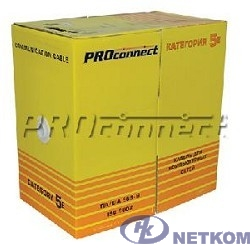 Proconnect (01-0154)  Кабель FTP CAT5e 4 пары (305м) 0.51 мм OUTDOOR