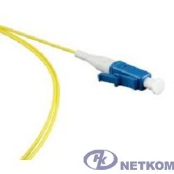 Hyperline FPT-B9-9-LC/UR-1M-LSZH-YL (FPT9-9-LC-UPC-1M) Пигтейл волоконно-оптический SM 9/125 (OS2), LC/UPC, 1 м, LSZH