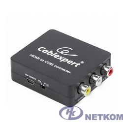 Cablexpert (DSC-HDMI-CVBS-001)  Конвертер HDMI -> RCA, Cablexpert, HD19Fx3RCA, HDMI -> 3xRCA (1x video, 2x audio)