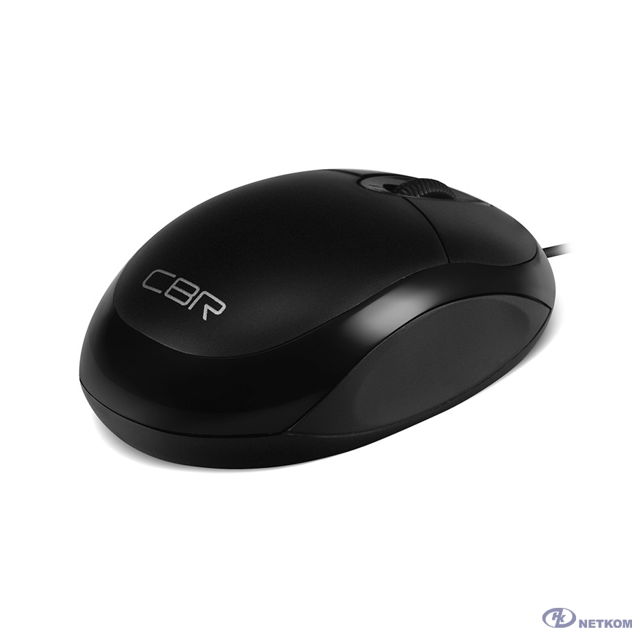 CBR CM 102 Black USB, Мышь 1200dpi, офисн.