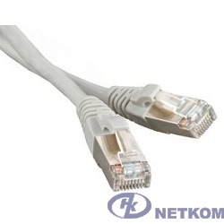 Hyperline PC-LPM-STP-RJ45-RJ45-C6a-2M-LSZH-GY Патч-корд FTP, экранированный, Cat.6a, LSZH, 2 м, серый