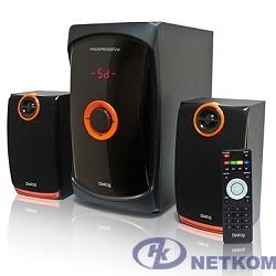 Dialog Progressive AP-200 BLACK { 2.1, 30W+2*15W RMS, USB+SD reader }
