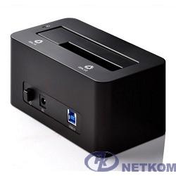 """ORICO 6619US3-BK Док-станция для HDD ORICO 6619US3; 1-bay 3.5""""/2.5"""" HDD 4TB Max (черный)"""