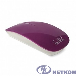 CBR CM-700 Purple USB, Мышь 800/1200/1600dpi, 2,4 Ггц, глянец, slim-корпус